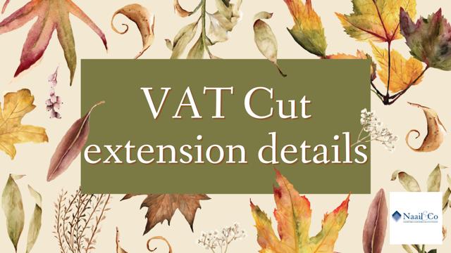 VAT cut extension