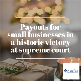 Legal win for small businesses