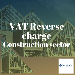 VAT Reverse charge Construction sector