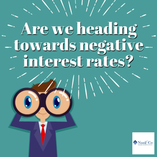 Negative interest rate