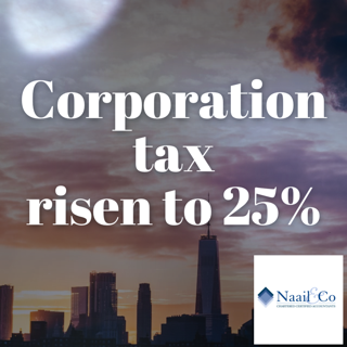 Company tax to rise to 25%