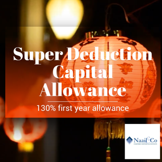 Super deduction Capital Allowance