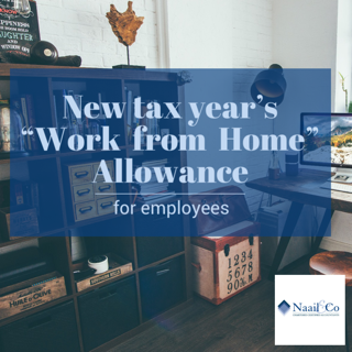 Work from home allowance for employees 2021-22