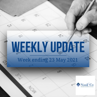 Weekly update 23.05.21