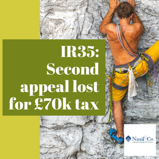 IR35- 2nd appeal lost for £70k tax
