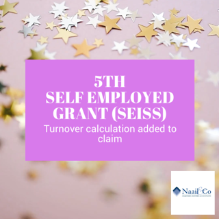 5th self employed grant