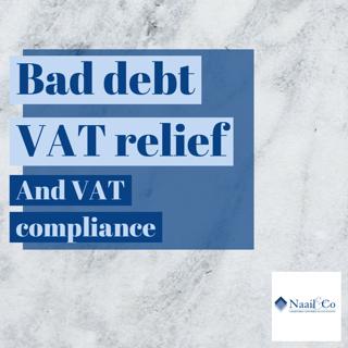 Bad debt VAT relief