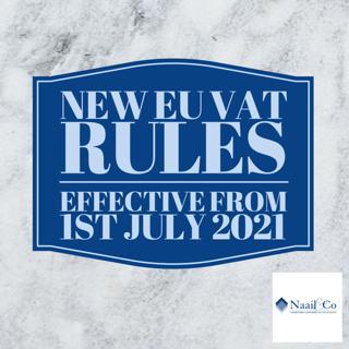 New EU VAT rules July 2021
