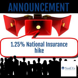 1.25% National Insurance hike