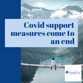 Covid support measures come to an end