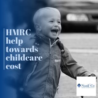 HMRC help towards childcare cost
